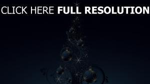 weihnachten tanne dekoration glitter