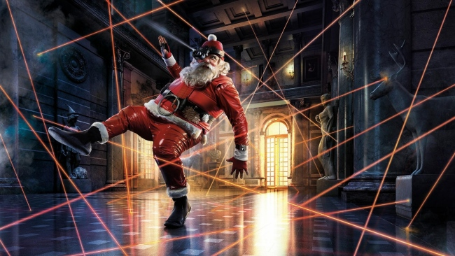 hd hintergrundbilder weihnachtsmann strahlen alarm spezielle operation