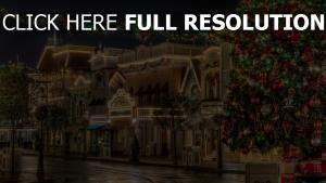 bäume ornamente girlanden lichter weihnachts