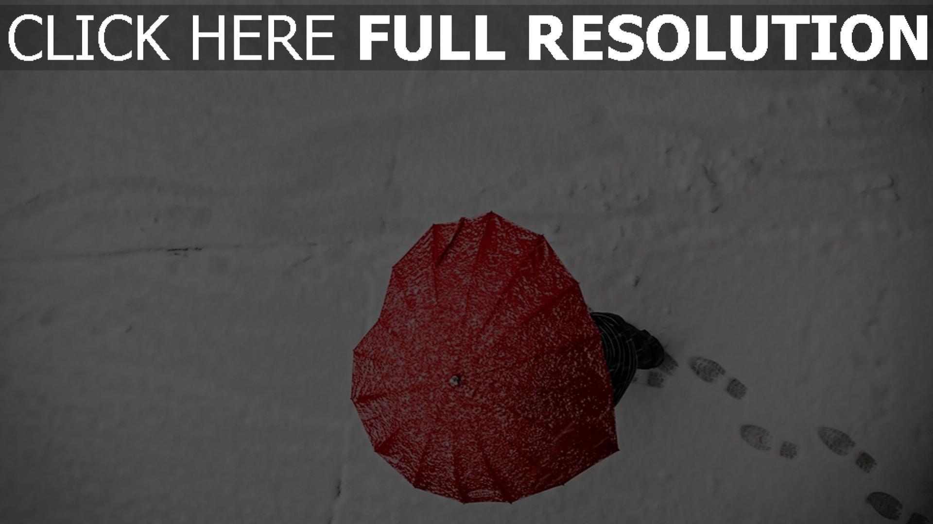 hd hintergrundbilder valentinstag romanze herz schnee regenschirm 1920x1080