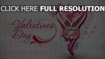 valentinstag romanze herz wörter