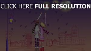 liebe romantik zeichen buchstaben paar