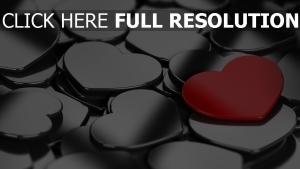 valentinstag romanze herzen valentine metall