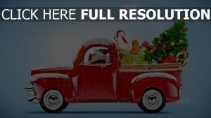 weihnachten auto weihnachtsbaum dekorationen geschenke
