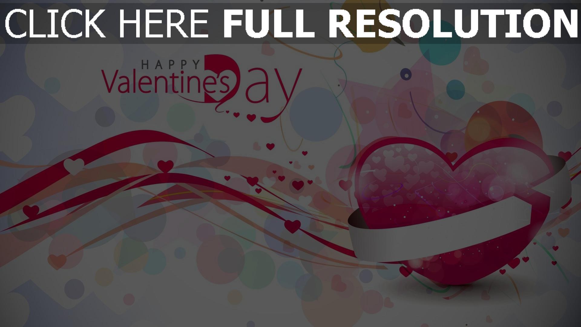 Hd Hintergrundbilder Valentinstag Herz Symbol Glückwunsch 1920x1080