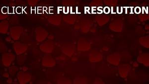 valentinstag herzen rot valentine