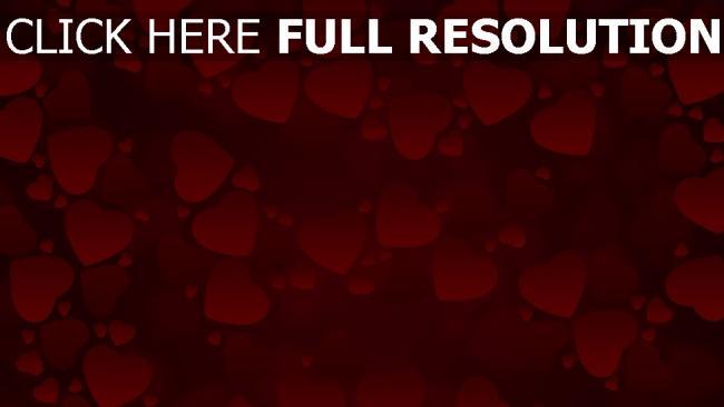 hd hintergrundbilder valentinstag herzen rot valentine