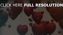 valentinstag herzen formen romantik