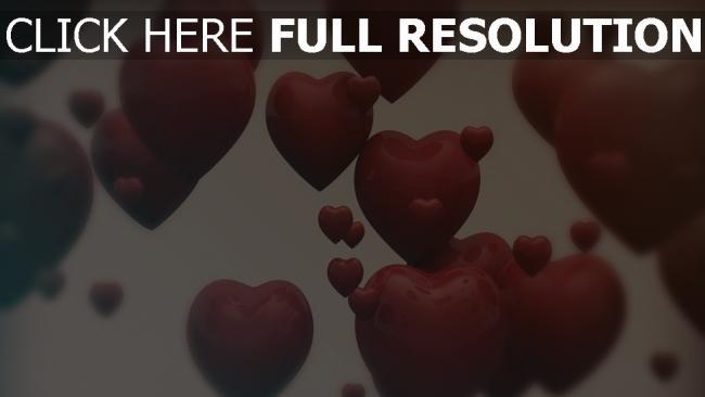 hd hintergrundbilder valentinstag herzen formen romantik