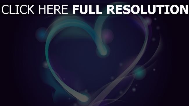 hd hintergrundbilder valentinstag herz forme symbol blau