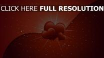 valentinstag herzen romantik valentine