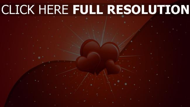 hd hintergrundbilder valentinstag herzen romantik valentine
