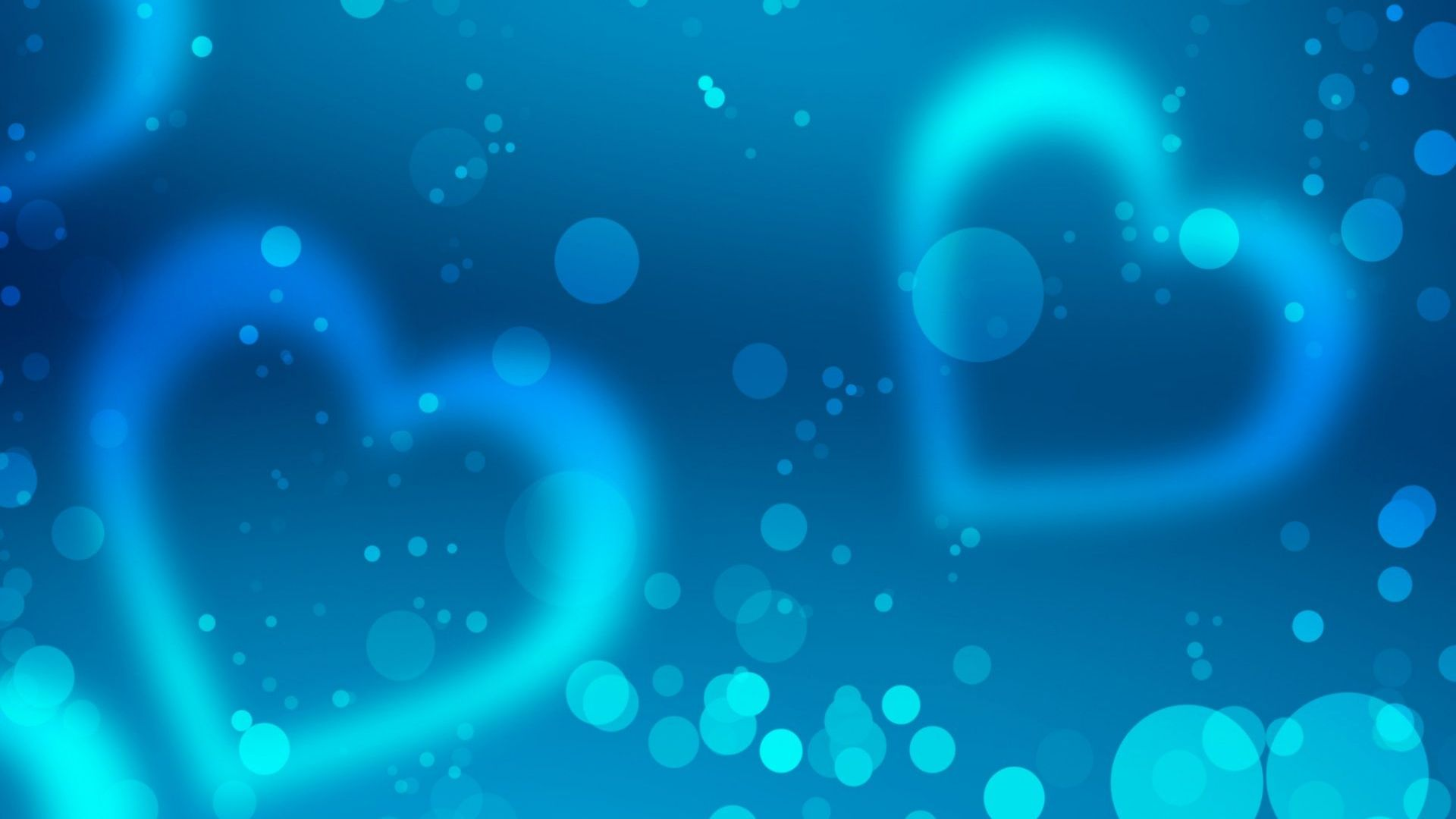 hd hintergrundbilder herzen romantik glitter blau desktop. Black Bedroom Furniture Sets. Home Design Ideas