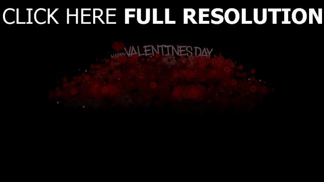 hd hintergrundbilder valentinstag grüße wünsche herzen rot schwarz