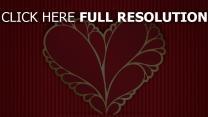 valentinstag herz romantisch rot rotes muster