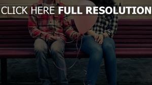 paar romantisch valentinstag luftballon