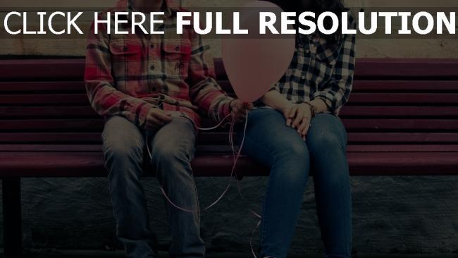 hd hintergrundbilder paar romantisch valentinstag luftballon