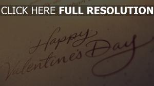 valentinstag grüße wünsche papier