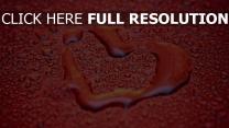 valentinstag herz romantisch tropfen rot