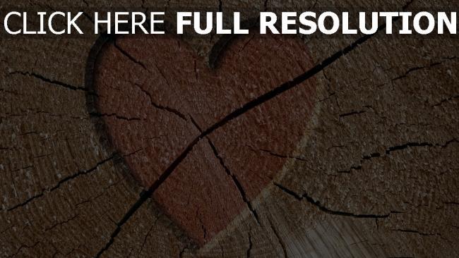 hd hintergrundbilder valentinstag herz romantik schnitt holz