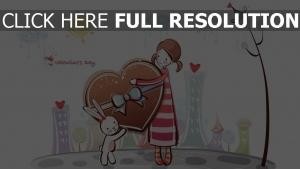 mädchen geschenk bunny süßigkeiten romantik
