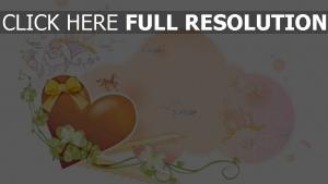 herz romantik glitter rosa lila