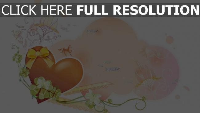 hd hintergrundbilder herz romantik glitter rosa lila