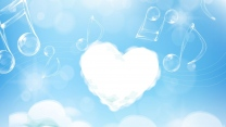 herz himmel musik wolken romantik