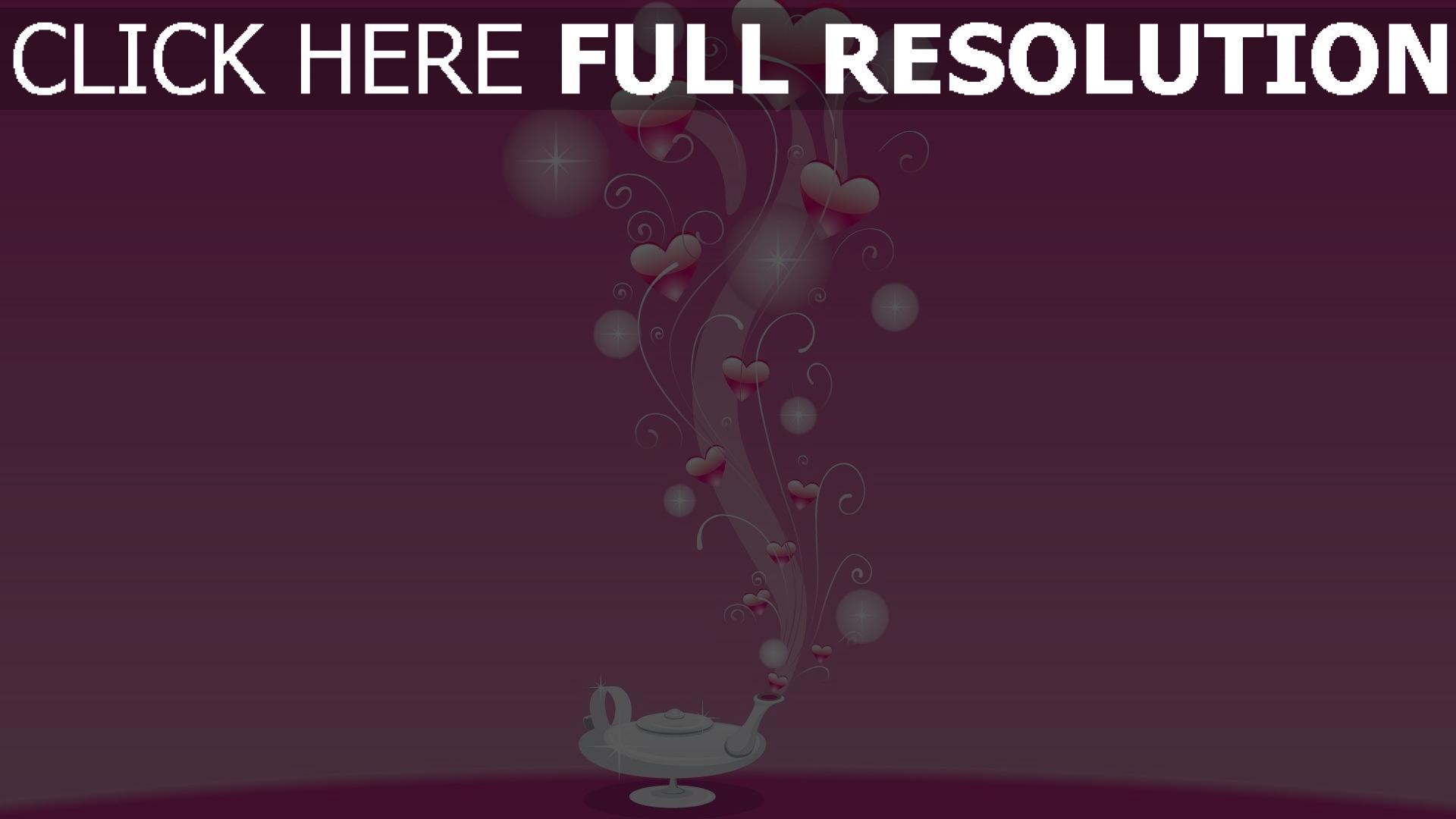 hd hintergrundbilder valentinstag herzen muster symbole rosa 1920x1080