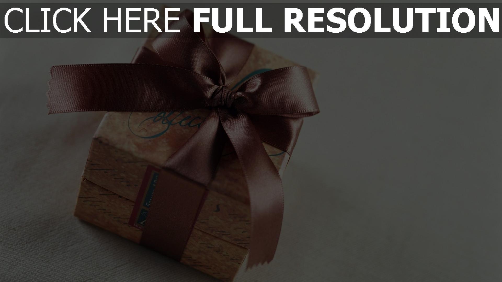 hd hintergrundbilder valentinstag geschenk box bogen band 1920x1080