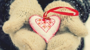 herz romantik souvenir geschenk handschuhe