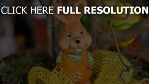 kaninchen ostern dekoration