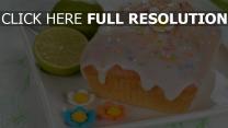 kalk kuchen vereisung dekorieren