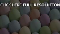 eier gemalt gefärbt ostern
