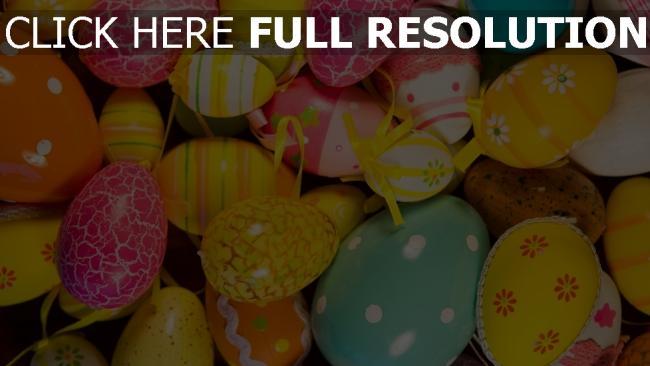 hd hintergrundbilder farbige eier zeichnungen ostern dekoration