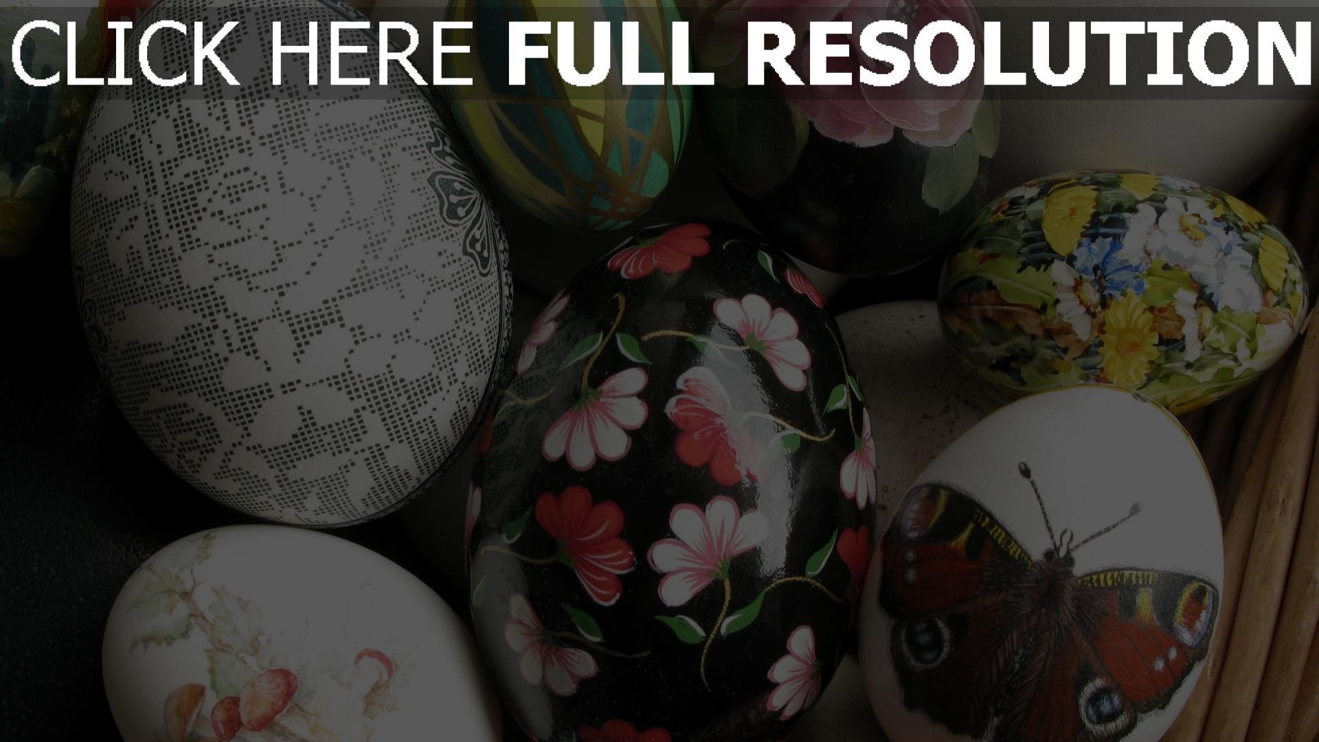 Hd Hintergrundbilder Muster Bilder Eier Ostern Gemalt