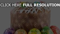 ostern fondant blumen dekoriert eier