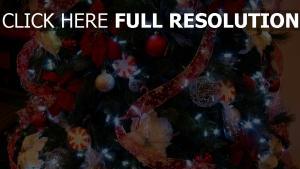girlande close-up weihnachtsschmuck baum band weihnachten