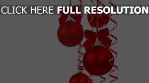 bögen schön luftballons hintergründe weihnachtsdekorationen tapeten farbbänder feier neujahr weihnachten