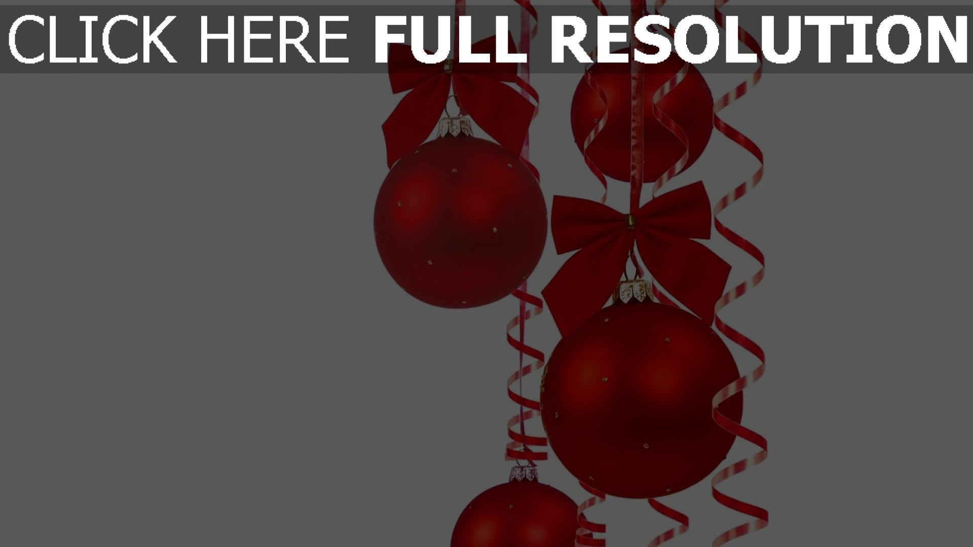 hd hintergrundbilder bögen schön luftballons hintergründe weihnachtsdekorationen tapeten farbbänder feier neujahr weihnachten 1920x1080