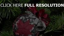 weihnachtsdekorationen nadeln urlaub neues jahr nadel feier close-up