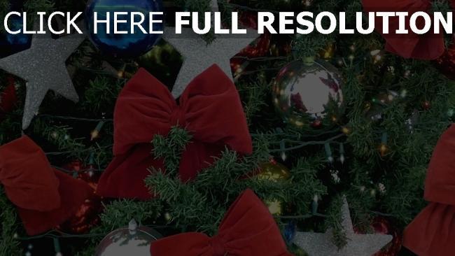 hd hintergrundbilder spielzeug urlaub girlanden weihnachtsbaum bögen neues jahr