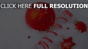 stern attribute luftballons weihnachtsschmuck schnee urlaub