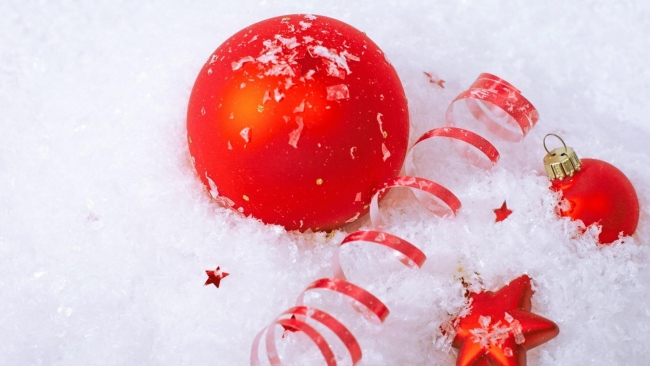 hd hintergrundbilder stern attribute luftballons weihnachtsschmuck schnee urlaub