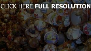 luftballons schaufenster neues jahr weihnachtsdekorationen attribute