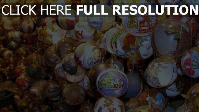 hd hintergrundbilder luftballons schaufenster neues jahr weihnachtsdekorationen attribute