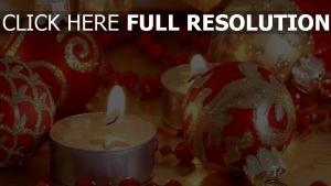 weihnachtsdekorationen close-up weihnachten neujahr kerzen