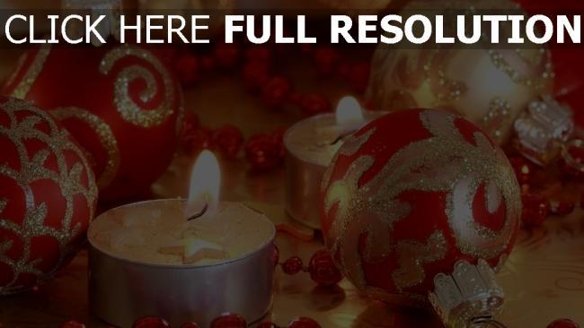 hd hintergrundbilder weihnachtsdekorationen close-up weihnachten neujahr kerzen