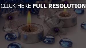 weihnachtsdekorationen attribute glocken kerzen lametta weihnachten feiertag neues jahr