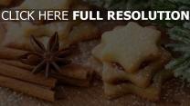neue tapeten kekse feiertag neues jahr landschaft süßigkeiten